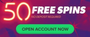 50 Free Spins no deposit for Australian players