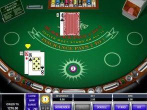 Tabla de estrategia blackjack