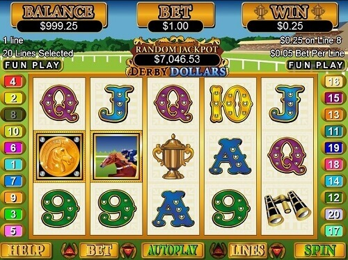 Derby Dollars Online Video Pokie