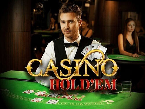 Live Hold'em online casino table game