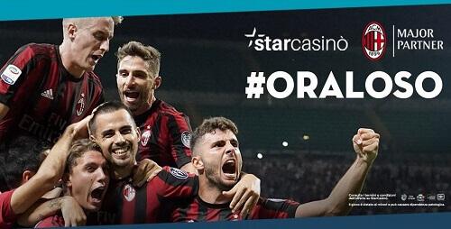 AC Milan and StarCasino online casino