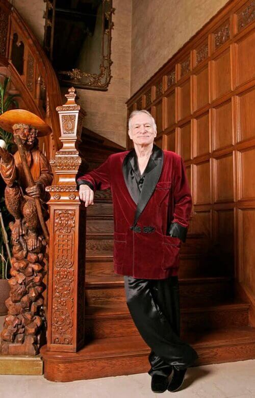 Hugh Hefner Playboy Founder