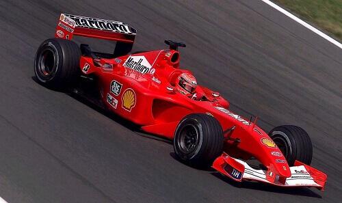 Michael Schumacher's Ferrari